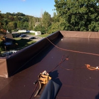 Warwick Condominium Flat Roof Replacement