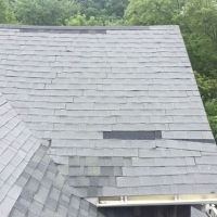Before Roof Replacement - Warwick Gallery